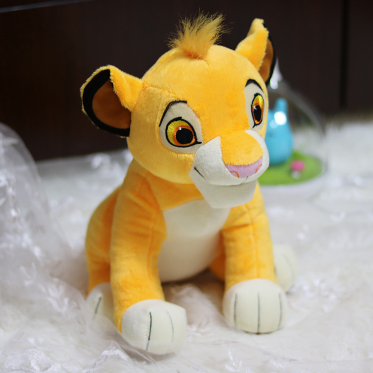 Disney Lion King Quality Cute Sit High 26cm Simba The Plush Toys Simba Soft Stuffed Animals doll Educational Toys For ChildrenDisney Lion King Quality Cute Sit High 26cm Simba The Plush Toys Simba Soft Stuffed Animals doll Educational Toys For Children