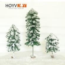 HOYVJOY Artificial Christmas Tree Snowflake Xmas Plastic 45/60/90cm New Year Home Ornaments Room Decorations