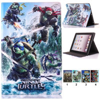 Tablet Case For iPad 2 3 4 5 Air 6 Air 2 New Legoed Marvel Super Hero The Avengers Durable Fold Flip Stand TPU+PU Leather Cover
