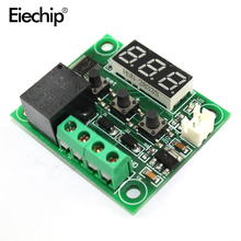 W1209 Digital LED DC 12V + NTC Sensor heat cool temp thermostat temperature switch Module On/Off Controller electronic Board DIY