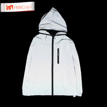 3m Reflective Jacket 2017 Tide Brand Jacket Men Women Casual Hiphop Windbreaker Night Sporting Coat Hooded Fluorescent Clothing(China)