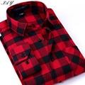 Free shipping 20 Chioce  VFan  Men Plaid Shirts Slim Long Sleeve Brand Formal Business Fashion Dress Warm Male Shirts