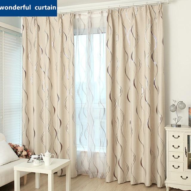 2016 jacquard shade window blackout curtain fabric modern curtains