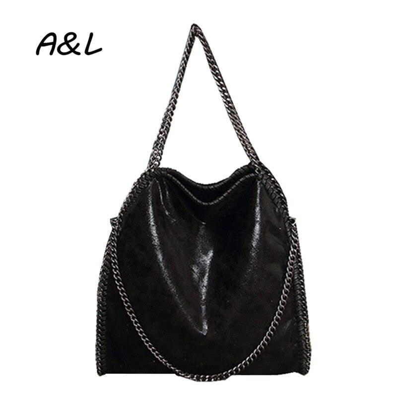 2019 femmes sac nouveau mode luxe Designer sac à bandoulière en cuir synthétique polyuréthane bureau dame affaires loisirs sac à main chaîne fourre-tout Bolsas A0089