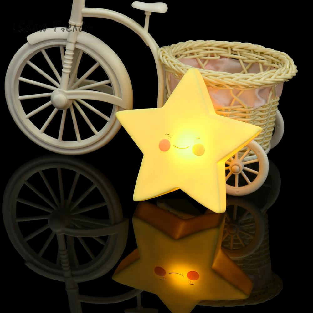 light toys for kids for Baby Bedroom Home Decoration Lamp Moon Sun Glowing Toy luminous led speelgoed led toy Glowing