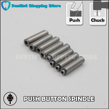 5pcs 12.7mm Push Button Spindle For Repair Dental Handpiece Spare Parts Cartridge Axis For Maintenance