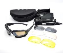Daisy X7 Tactical Night Vision TR90 UV400 Cycling Glasses Google Bullet-proof Ciclismo Eyewear Goggles Sunglasses