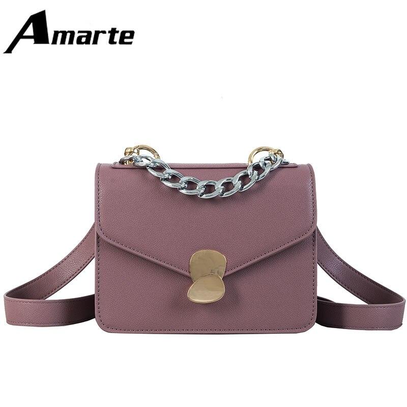 702aa64c4e6c 2019 Amarte Новая модная роскошная женская сумка простая универсальная сумка  через плечо многоцветная опционально большая емкость
