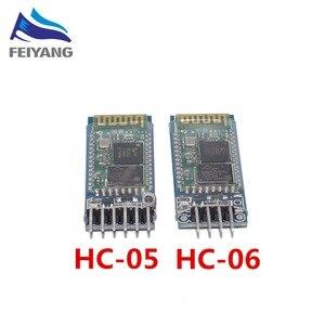 Image 2 - 100 sztuk HC 06 HC 05 HC05 HC06 bezprzewodowe urządzenie nadawczo odbiorcze Bluetooth niewolnik moduł konwertera i adapter