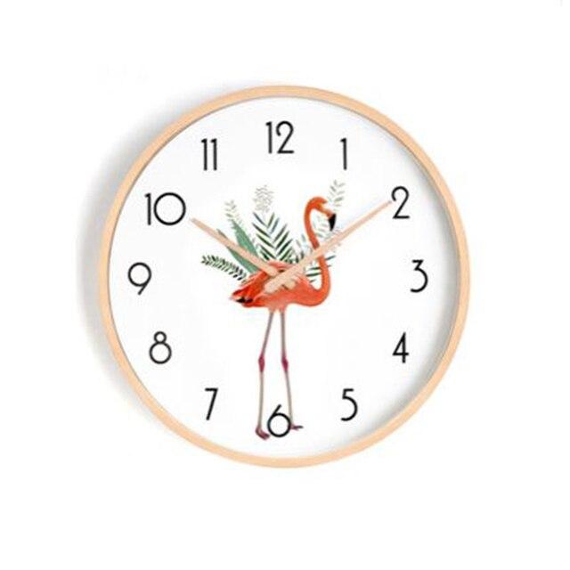 Mejor precio Reloj de pared nórdico japonés dormitorio ...