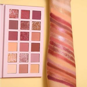 Image 5 - UCANBE alacakaranlık toz + aroma çıplak göz farı paleti makyaj seti mat işıltılı Glitter preslenmiş inci son derece pigmentli ipeksi toz
