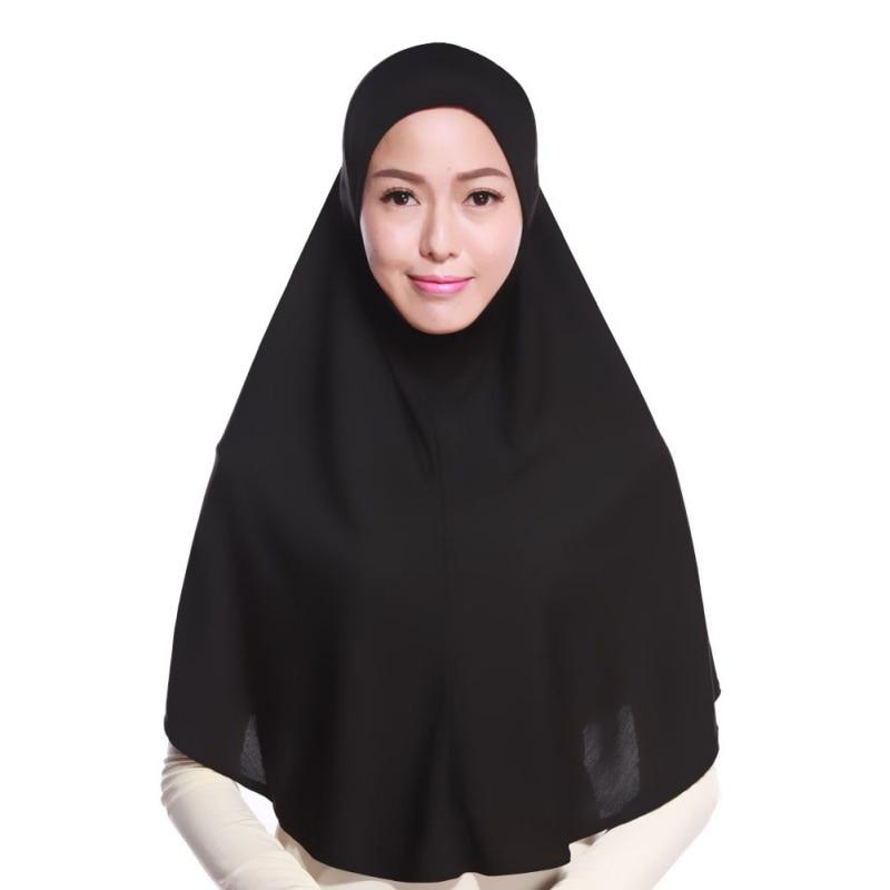 Mode Femmes Hijabs Islamique Poitrine Couverture Écharpe Bonnet - Vêtements nationaux - Photo 1