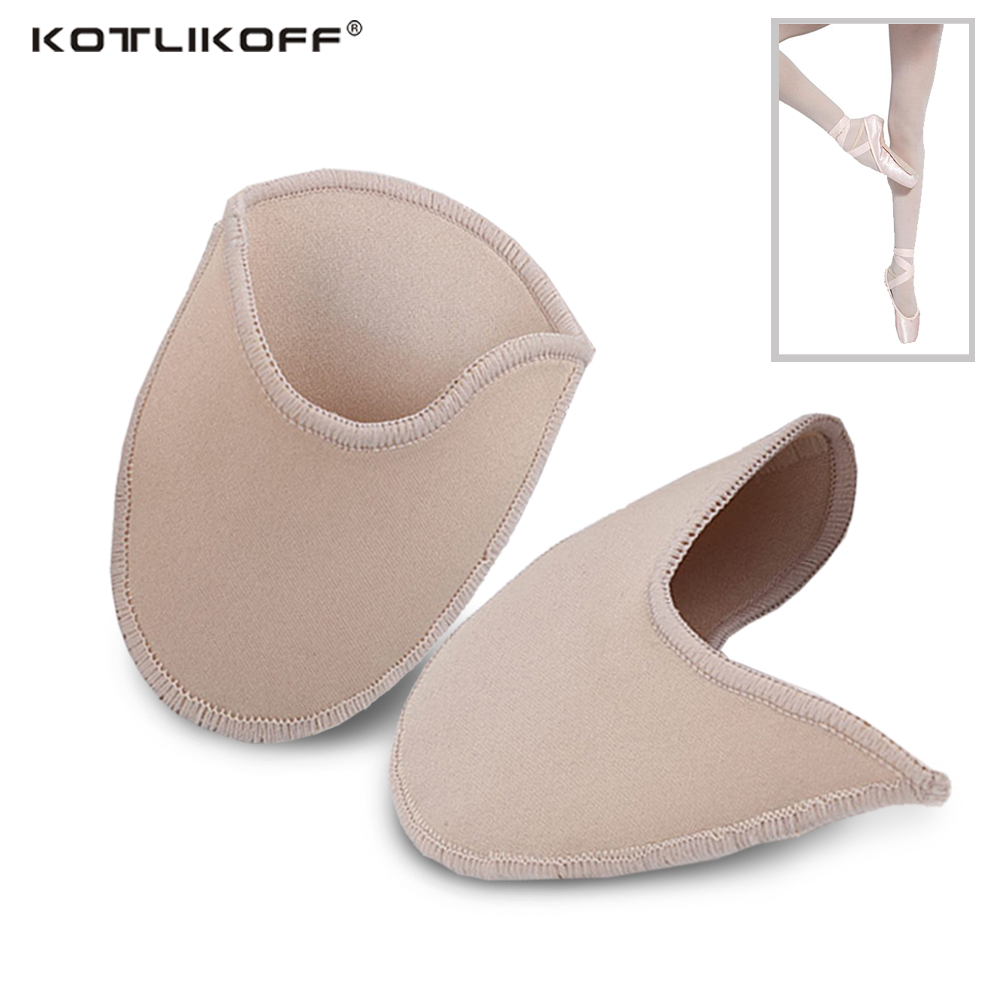 KOTLIKOFF foot care toe dance protector insoles half pads sponge silicone gel support ballet shoes covers high heel shoe women