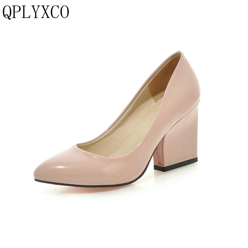 Фотография QPLYXCO 2017 New Sale size 33-43 Genuine Leather fashion Women