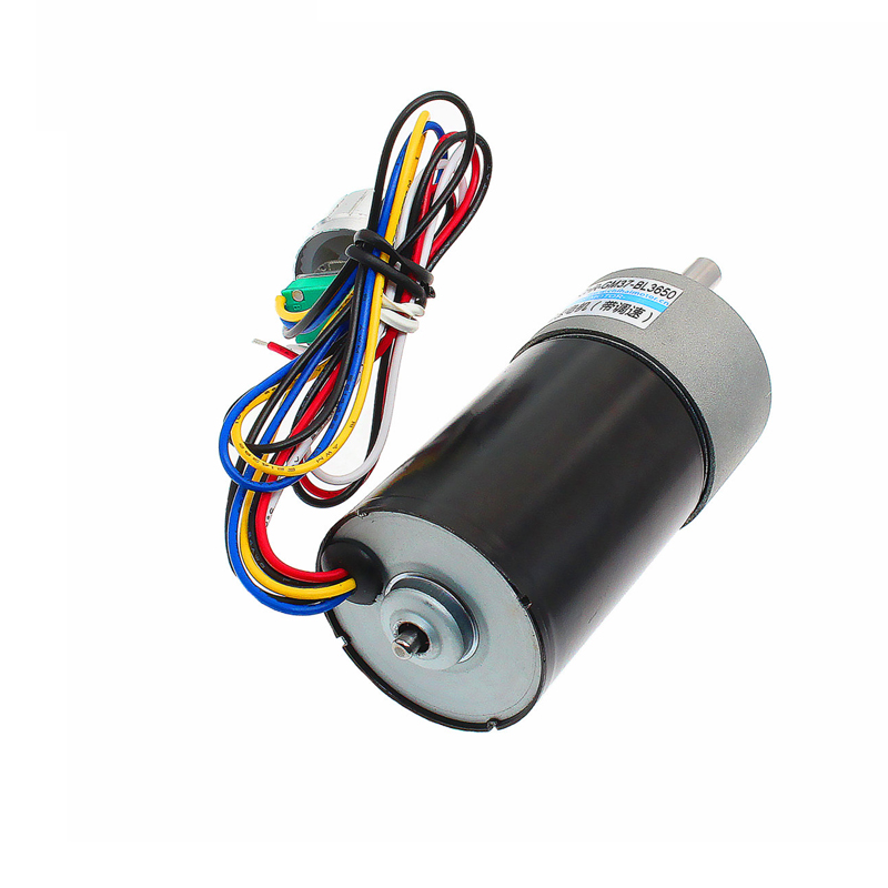 GM37 BL3650 DC brushless geared motor self contained stepless speed control knob DC12V 24V in DC Motor from Home Improvement