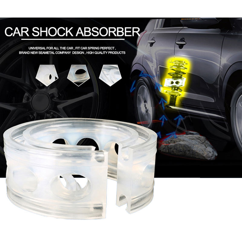 2Pc Car Shock Absorber Spring Bumper Power Auto-buffers A//B//C//D//E//F Type Springs Bumpers Cushion Urethane for Cars Goods Buffer C Type
