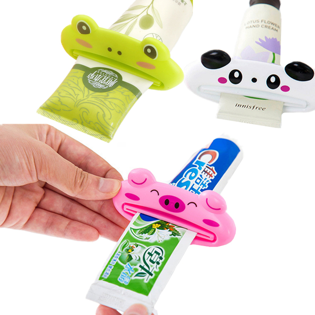 1 pz Carino Animale Multifunzionale Squeezer/Dentifricio Squeezer Casa Commodity