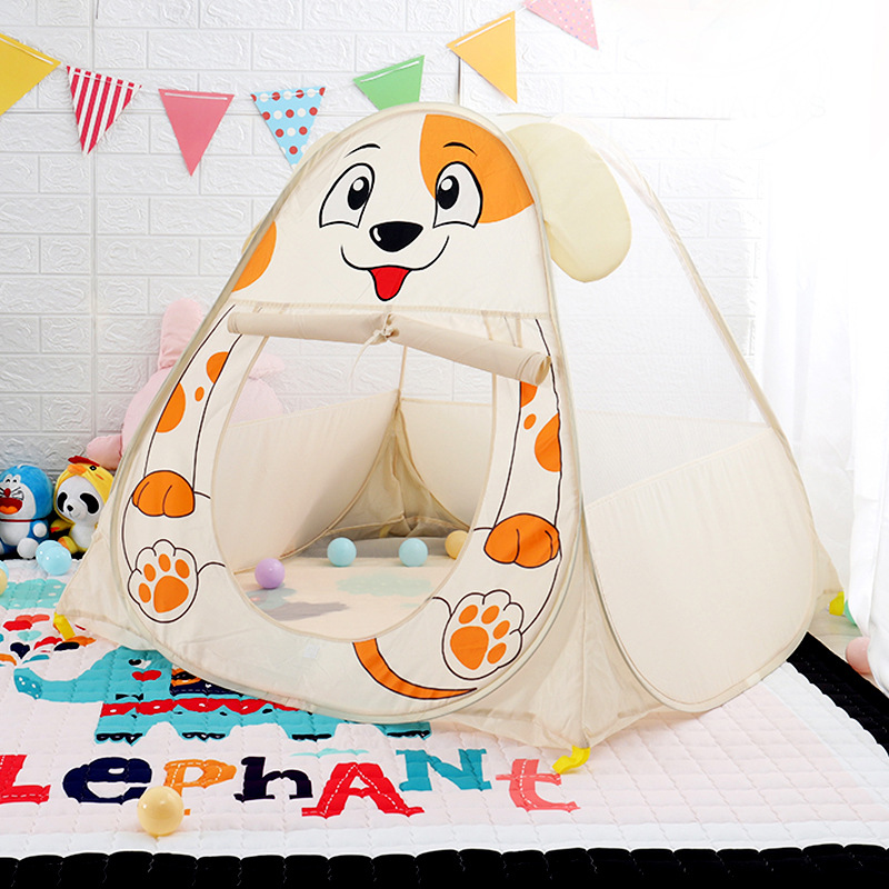 Children's Indoor And Outdoor Tent Toys Baby Fence Toys Ocean Ball Pool Play House Kids Tent  Kids Tents And Playhouses