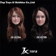 JXTOYS-029 1/6 Scale Lim Yoon A/B Yoona Asian beauty Female Head Sculpt Model FIT for TBL Phicen Pale 12 Figure body