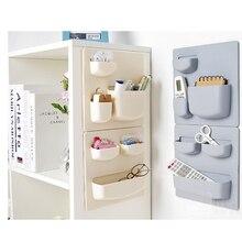 2019 Paste Type Rack Wall Household Bathroom Storage Kitchen Holder Shelves for