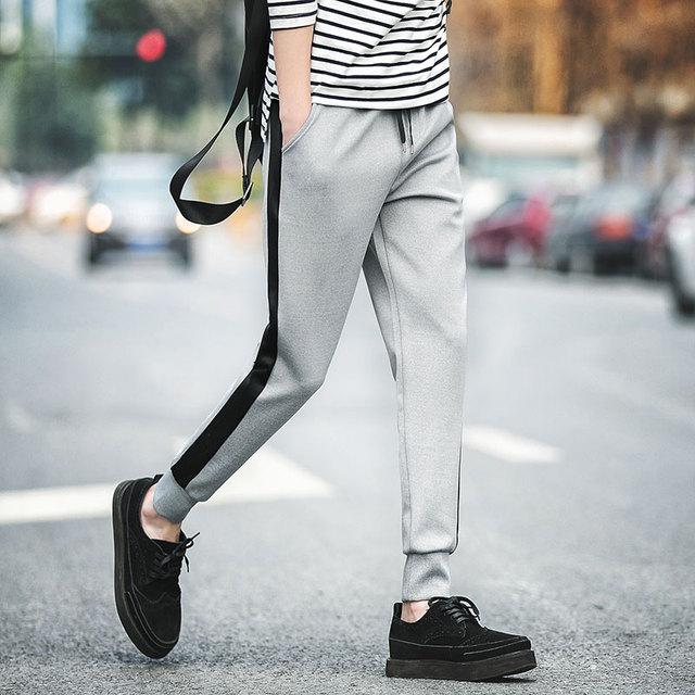 M-5XL Mens Joggers Sweatpants 2016 Pantalon De Chandal Hombre Slim Casual Cargo Pants Men Tracksuit Bottoms Harem Pants D006