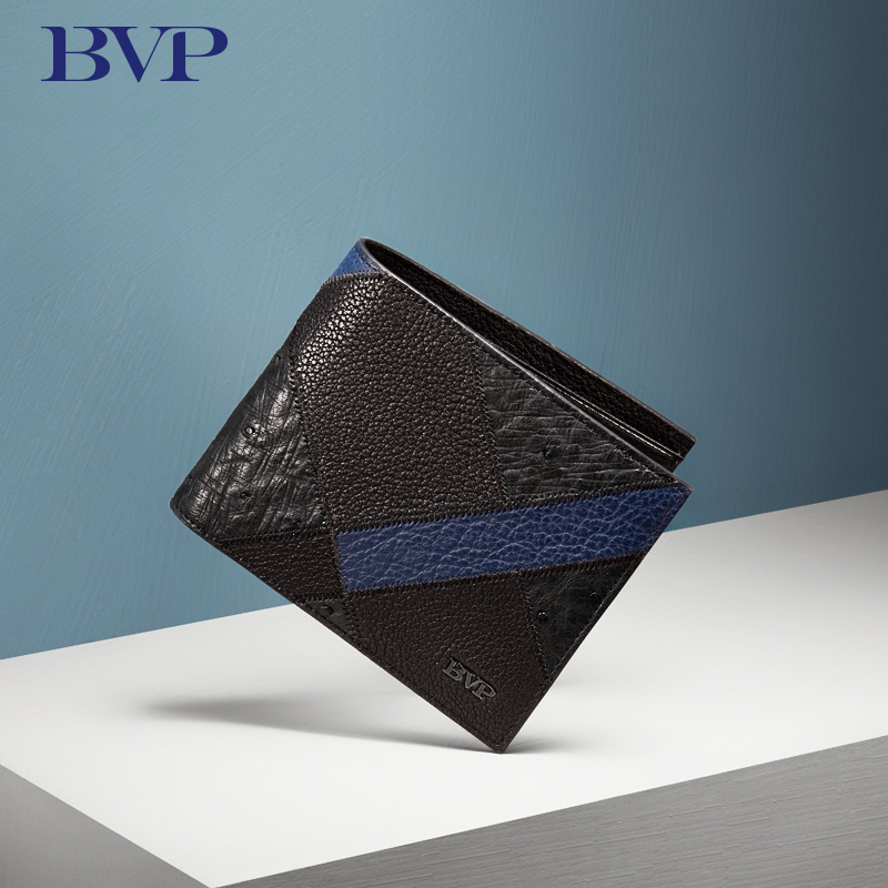 2017 New Famous Brand Black Men  Wallet  Cow Leather European And American Style color-blocking  Short Purse Good Quality J40 european and american fashion genuine leather embossing no zipper designer famous brand luxury short section men standard wallet