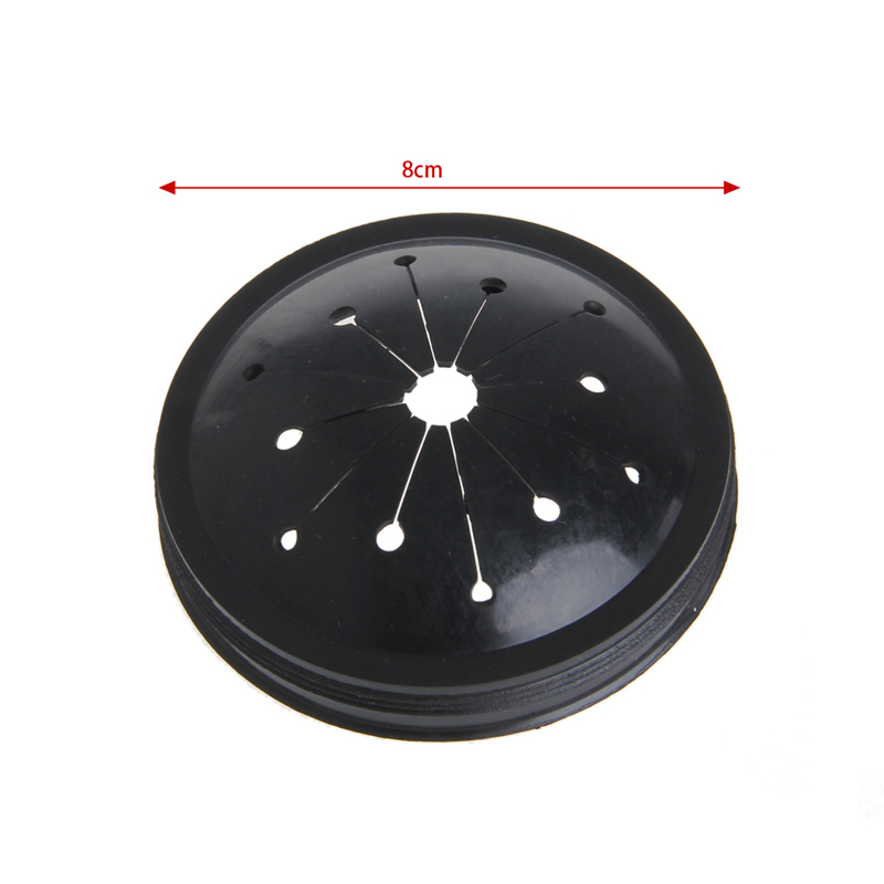 Rubber Replacement Garbage Disposal Splash Guard For Waste King 80mm 3.15