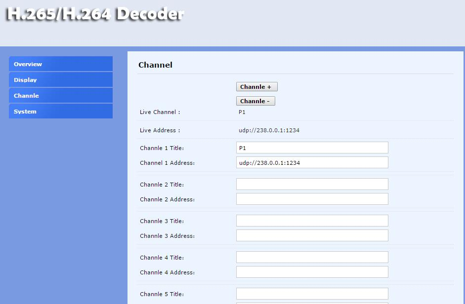 3.Channels