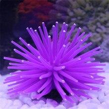 Силиконовые аквариумные рыбки, Искусственные коралловые растения, подводное украшение, хорошее украшение