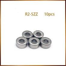 R2-5zz подшипник Abec-1(10 шт.) R2-5ZZ миниатюрный R2-5 Zz Подшипники для Rc модели