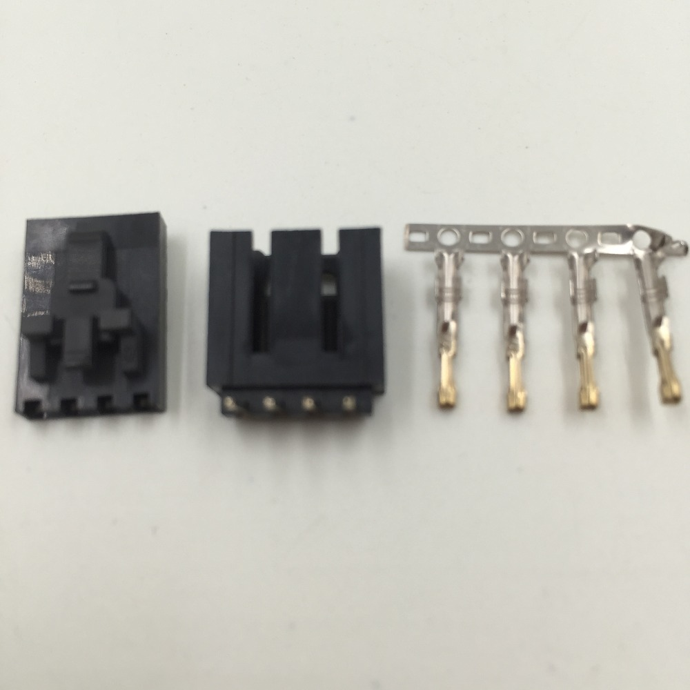 20 SETS 2520 Molex 2.54mm 4-Pin Male & Female with LOCK Connector and Crimps bow tie bardot bikini set