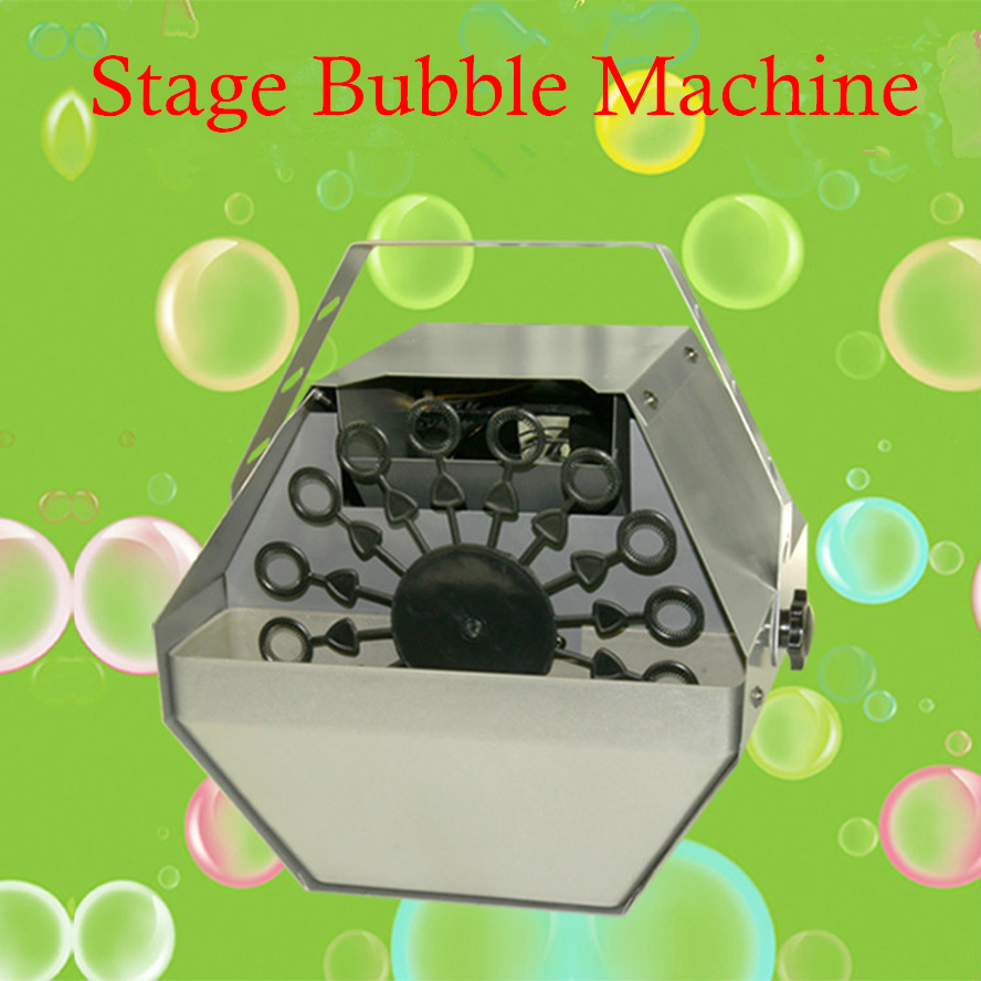 60W 0.75L Mini Bubble Machine Wireless Remote/Panel Control Professional DJ /Bar /Party /Show /Stage Bubble Machine недорого