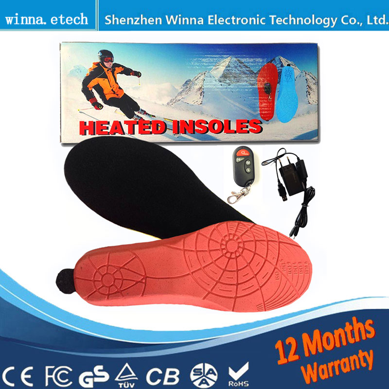 NEW USB Electric Powered Heated Insoles For Shoes Boots pad Keeping Feet Warm Free Shipping EUR SIZE 35-40 Red BLACK free shipping 95 97 id 108672 108962 size eur 40 46