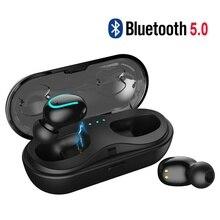 Bluetooth 5.0 Wireless headset Bluetooth Earphone 3D Stereo Sound True Wireless Headphones TWS Earbuds with Charging Case joyroom t04 true wireless bluetooth earphone binaural stereo bluetooth wireless headphones bluetooth tws with charging case