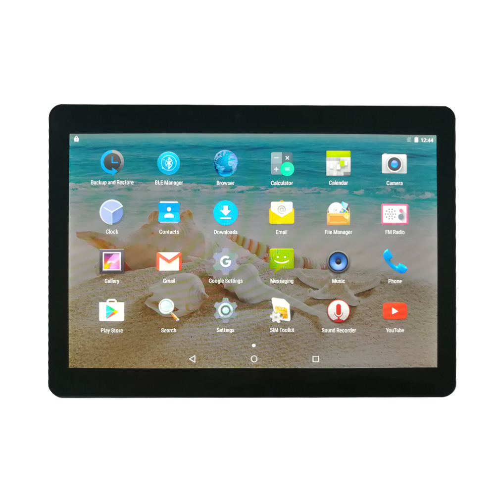 Yuntab black alloy Tablet PC K17 Quad Core Phablet with dual camera Built in 2