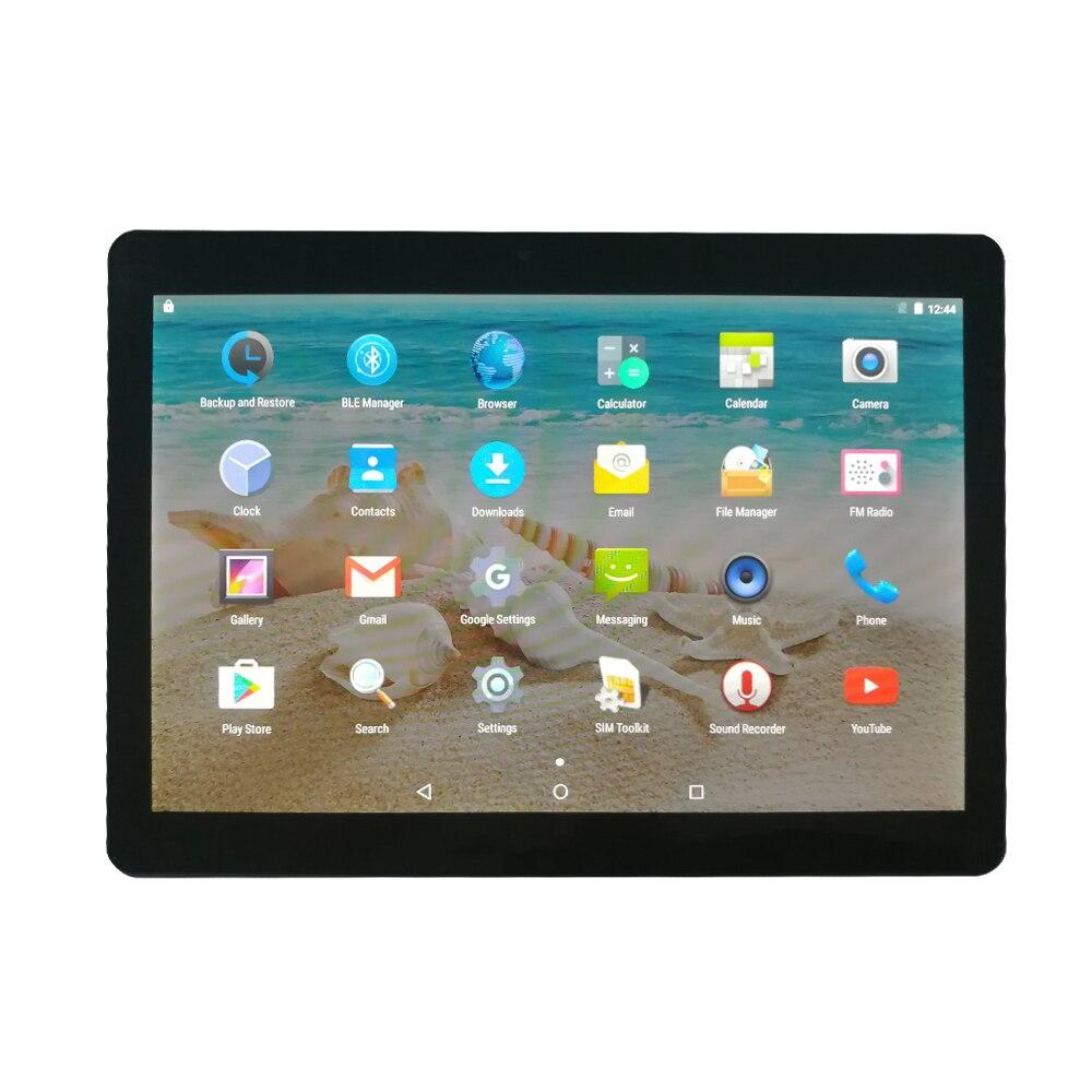 Yuntab negro aleación k17 quad-core phablet tablet pc con cámara dual construido