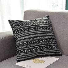 Vintage geométrico hogar Decoración Lino algodón tiro lindo cojín comodidad