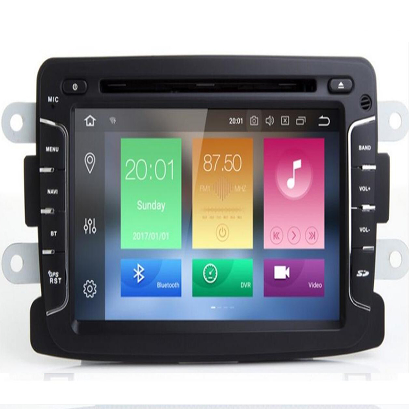 IPS Android9.0 Car dvd player GPS Navigation For Dacia Sandero Duster Renault Captur Lada Xray 2 Logan 2 auto radio DAB TPMS OBD image