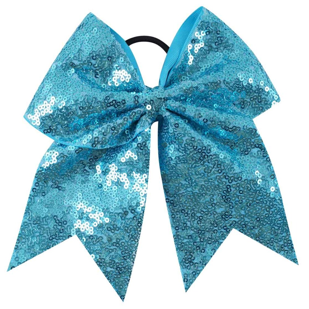 7 blue grosgrain ribbon cheer
