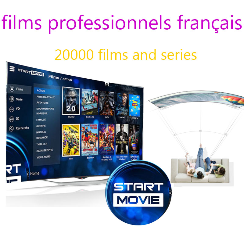 firesticker Android tv box iptv abonnement subscription french movies 20000 films and series free test