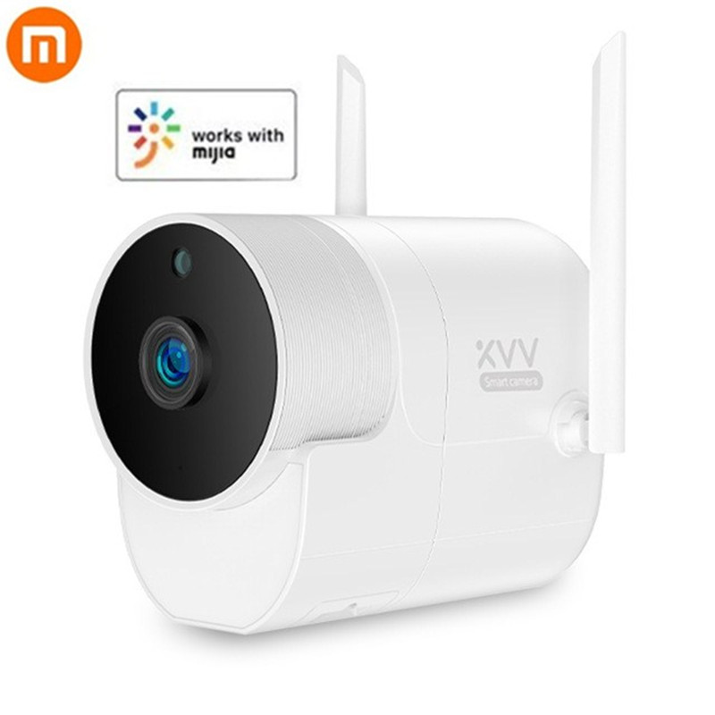 New Xiaomi Xiaovv 1080P Outdoor Panoramic Camera Surveillance Camera Wireless WIFI High definition Night vision Work With Mijia-in Smart Remote Control from Consumer Electronics    1