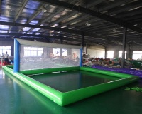 New design inflatable badminton field for sport game