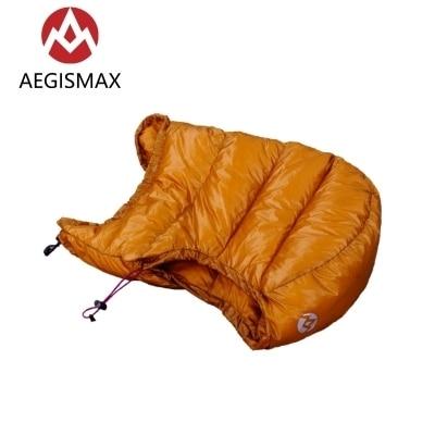 AEGISMAX Goose Dow Hood Hat for Envelope Sleeping Bag 4