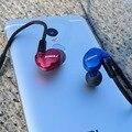2016 Nueva Kinera BA05 Dinámico En la Oreja los Auriculares Monitor con 1 BA Híbrido HIFI DIY Auricular Con Interfaz MMCX Para iphone7 moible