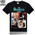 100% Algodón A Estrenar de los Hombres Camiseta Beatles Anime Camiseta De Impresión hombre O Cuello de Camisetas Para Hombre Tops Plus Tamaño 3XL de Las Mujeres camiseta