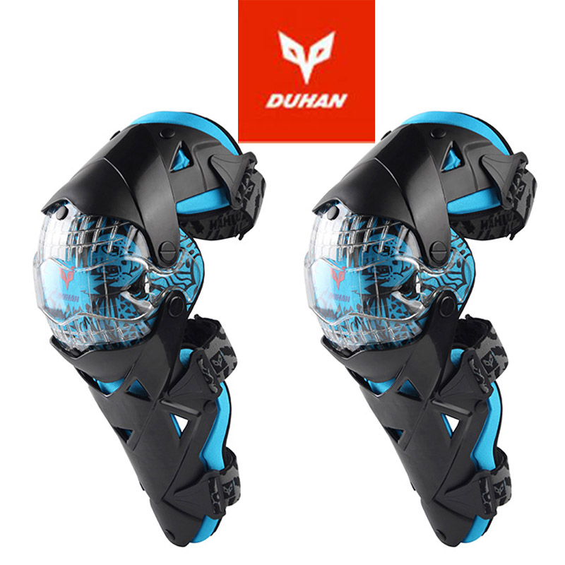 2018 New Cross-country DUHAN motorcycle kneecap knight Riding protection Knee motorbike Kneepad knight Riding protection PC/PE