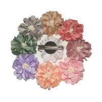 24pcs/lot Baby Girls Hairpins Hair Clip With 2