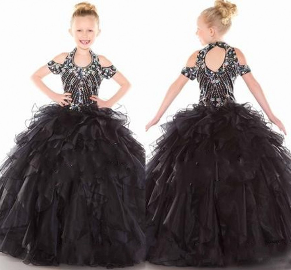 Wedding Ball Gowns 2014: Dazzing Cheap Kids Formal Wear 2015 Flower Girls' Dresses