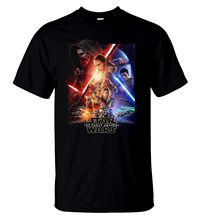 Star Wars The Force Awakens T Shirt American Action Movie Tee Men T-Shirt V2 Free shipping  Harajuku Tops Fashion Unique 5pcs movie the force awakens first order stormtrooper officer ee exclusive free shipping