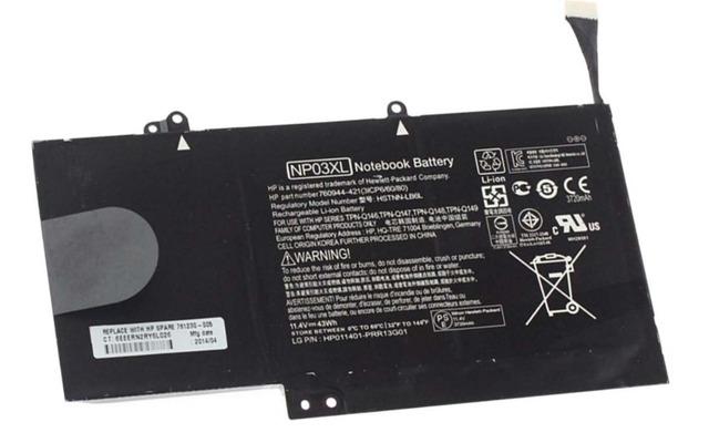 11.4 v 43wh bateria do portátil para hp pavilion x360 13-a010dx np03xl 13-b116t envy 15-u010dx 15-u337cl 15-u050ca 760944-421 hstnn-lb6